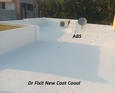 Dr Fixit New Coat Coool serves as  terrace waterproofing cum cool coating
