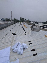 Metal Sheet Joint water proofing